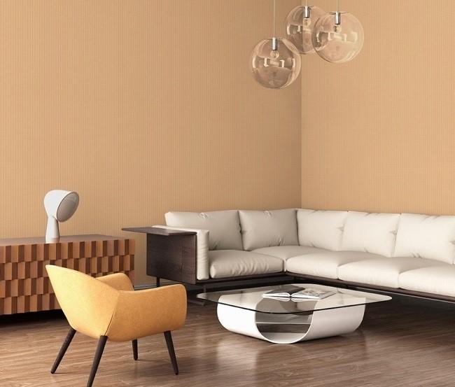 Giấy dán tường giả gỗ biến không gian trở nên độc đáo, mới lạ hơn. Từ vân gỗ ngang, vân dọc đến vân chéo cũng được các nhà thiết kế đầu đưa vào ý tưởng trong các mẫu giấy dán tường Hàn Quốc.