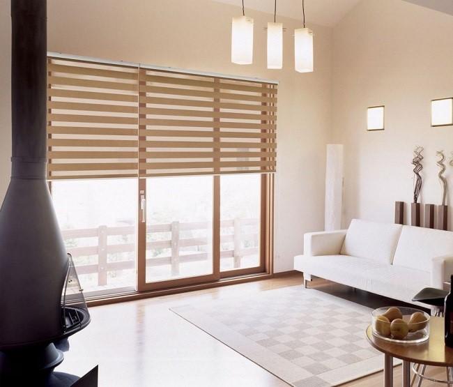 Rèm cầu vồng rất được ưa chuộng trong không gian biệt thự, căn hộ cao cấp