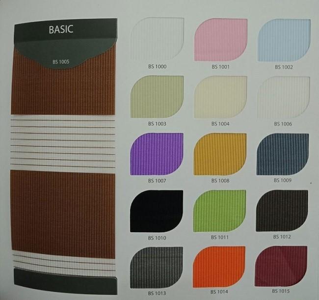 Chất liệu vải rèm cuốn cầu vồng có khả năng chống nắng lên đến 85%